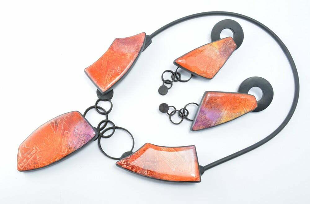 polymer clay workshop Olga Nicolas