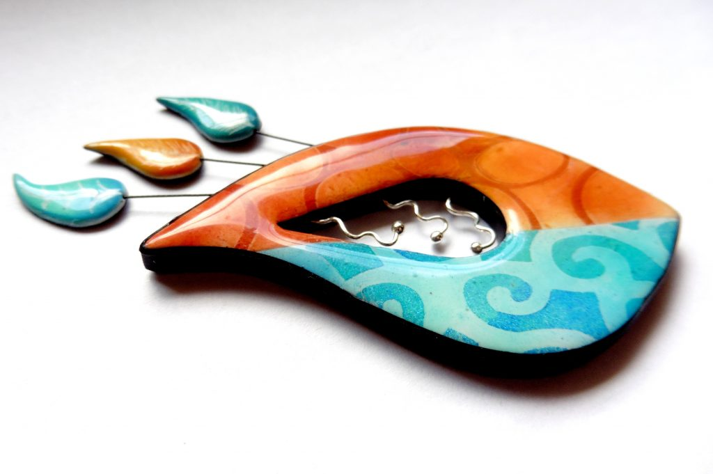 tutorials polymer clay stencils pastels and acrylic paints