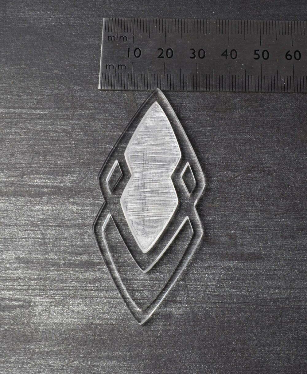 acrylic blank for resin mold