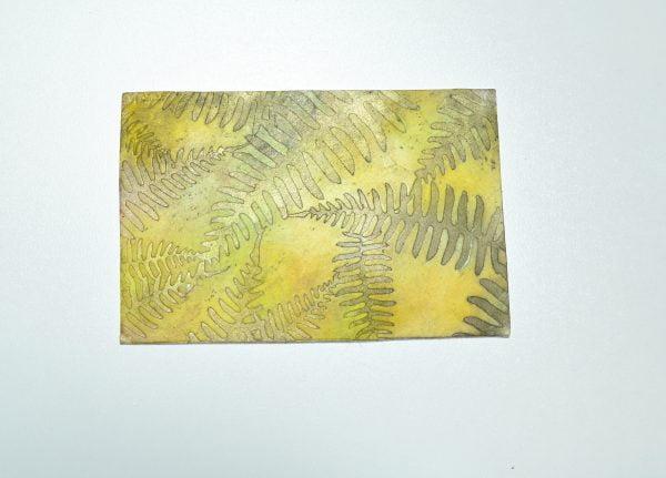 polymer clay stencil