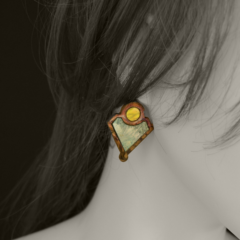 gabarit boucles d'oreilles