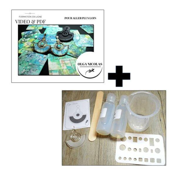 formation et kit silicone pour pâte polymère