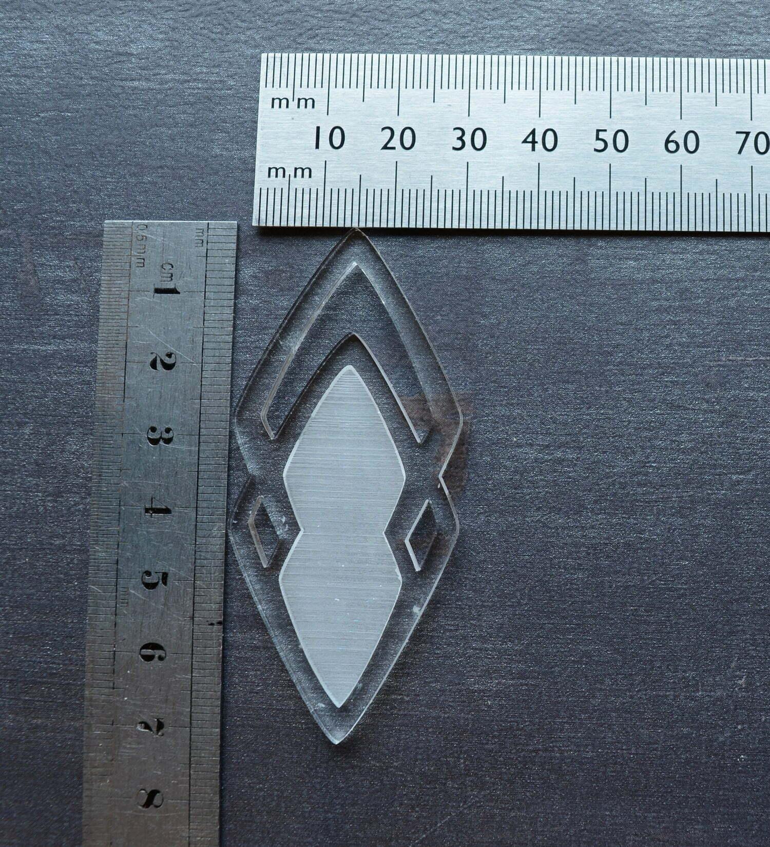 gabarit bijoux à mouler