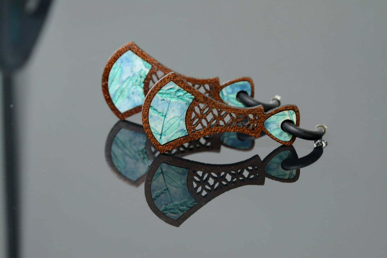 bijoux bois et pâte polymère