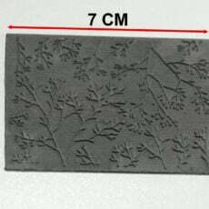 Tampon pour texturer la pâte polymère
